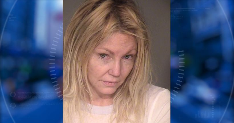 Heather Locklear charged with battery of first responders