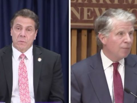 Time's Up urging Cuomo to investigate Manhattan D.A. over Weinstein