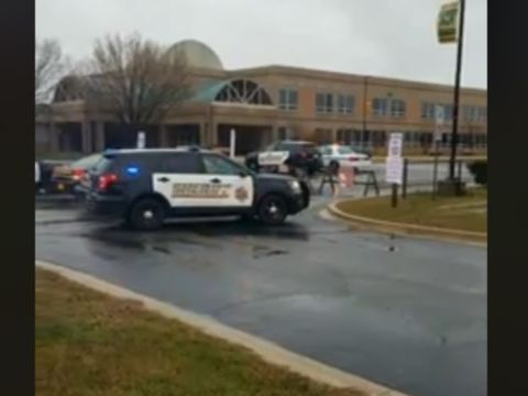 Shooter dead at Maryland high school shooting