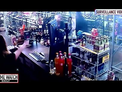 Mother-daughter duo turns tables in shootout with armed robber