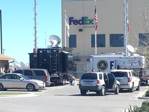 Package sent from and to Austin blows up FedEx facility