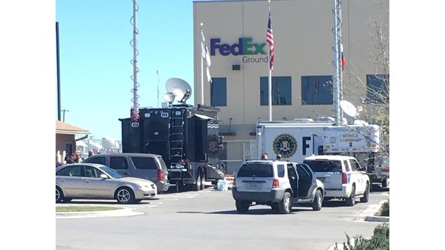 Package sent from and to Austin blows up Schertz FedEx facility