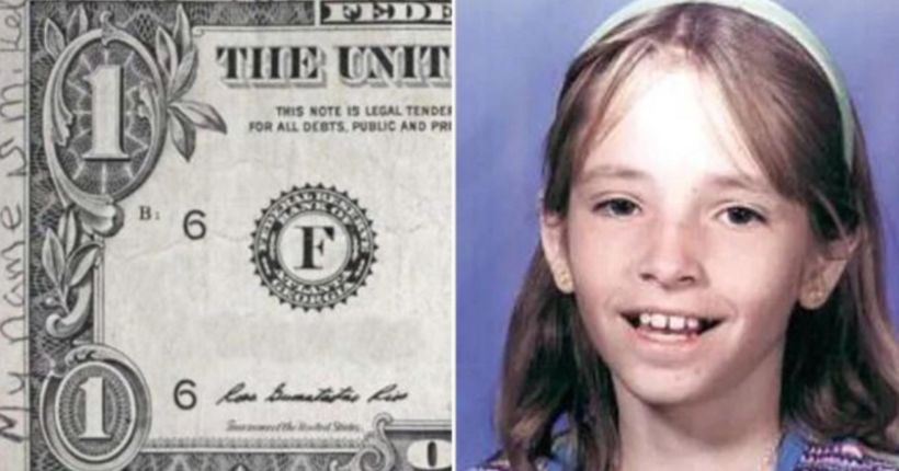 Note found on dollar bill says missing girl from Arizona is alive