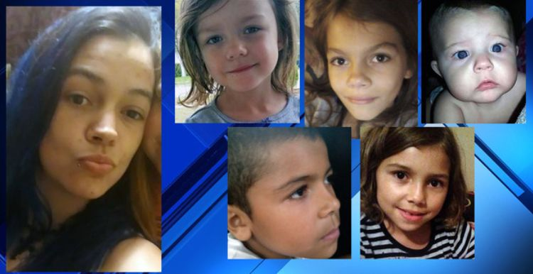Police search for Jacksonville mom, 5 kids; Have you seen them?