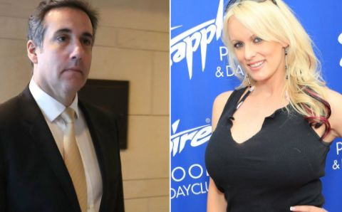 Stormy Daniels sues Trump lawyer for defamation