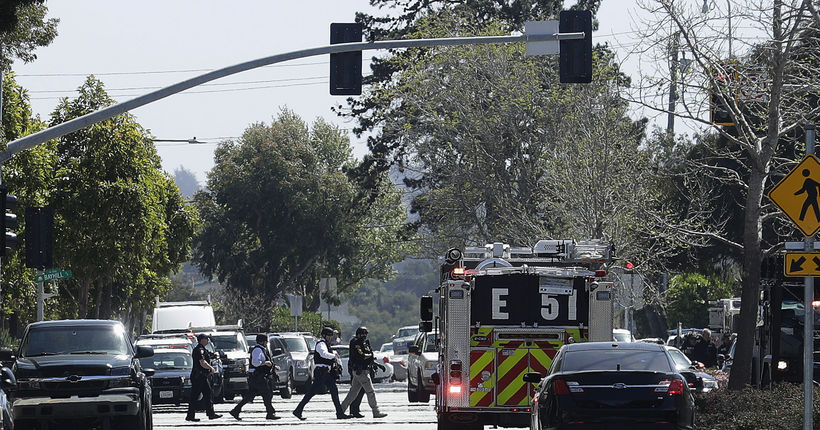 Active shooter reported at YouTube headquarters in Bay Area