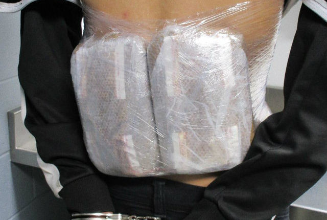 Teens arrested at border with fentanyl packages worth $500K strapped to their backs