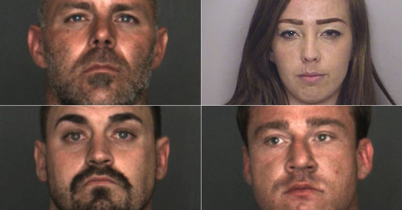 4 arrested in connection with stealing more than $100K worth of equipment, property: Fontana PD
