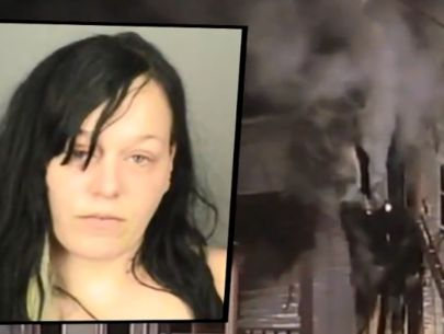 Mom who started fire, killing four kids, released from prison
