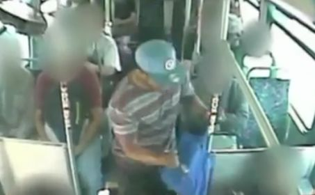 Authorities release video in attempt to ID man who critically stabbed another passenger on transit bus in East L.A.