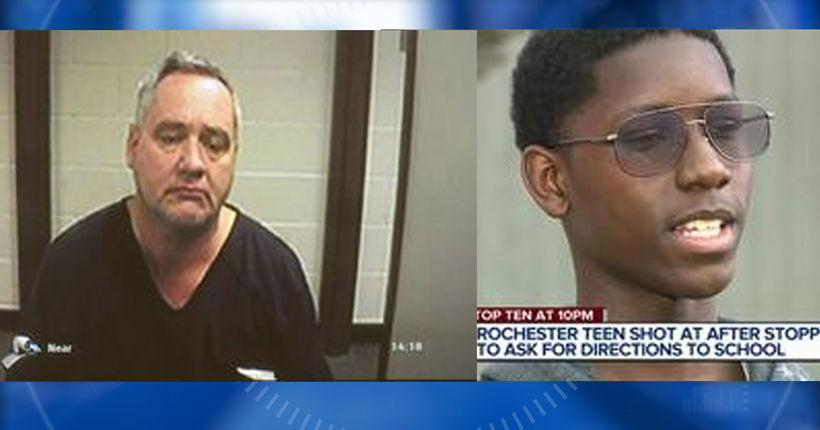 Michigan man charged with chasing, shooting at teen asking for directions