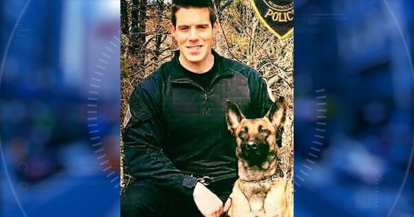 Slain police officer's K9, Nero, recovering from surgery