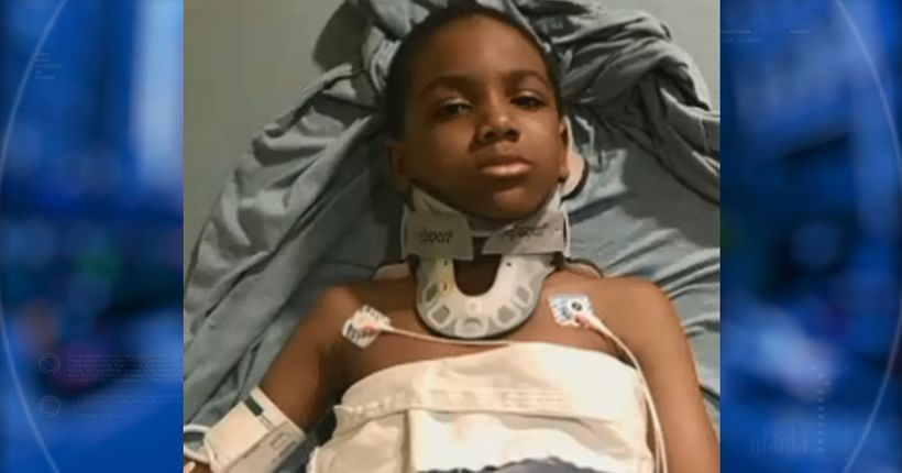 Mother fights for answers, claims 7-year-old coughed up blood after bullying incident