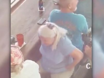 'Gambling grandma' wanted for double murder, ID theft