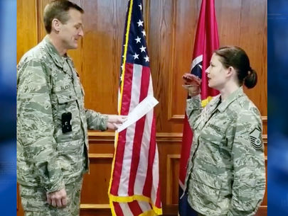 Tennessee airmen removed after dinosaur puppet used during oath
