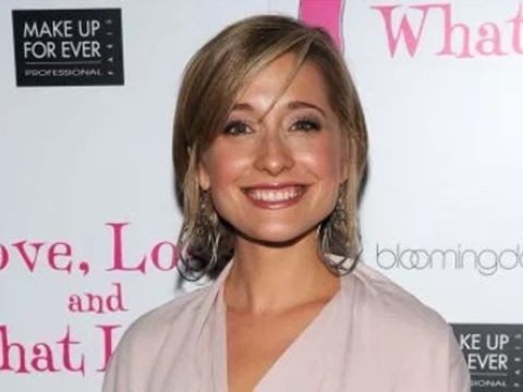 'Smallville' star Allison Mack arrested in connection with sex cult
