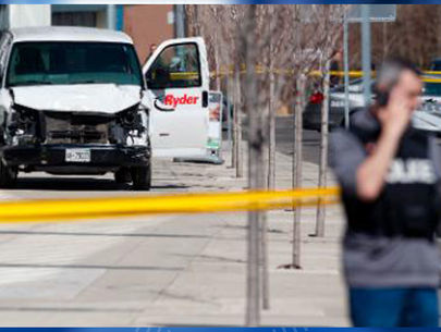 9 dead after van plows into pedestrians in Toronto