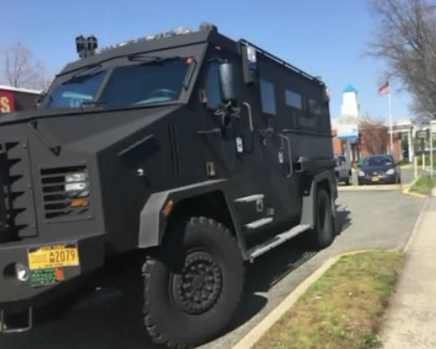 Armored Port Authority vehicle rams into woman on LI road twice, she says