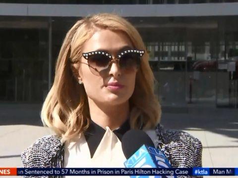 Woman sentenced in Paris Hilton hacking case