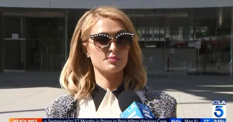 Woman sentenced to 57 months in prison in Paris Hilton hacking case