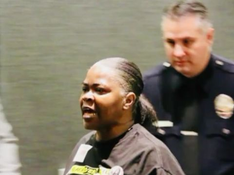 Ashes of woman who died in custody thrown at LAPD chief