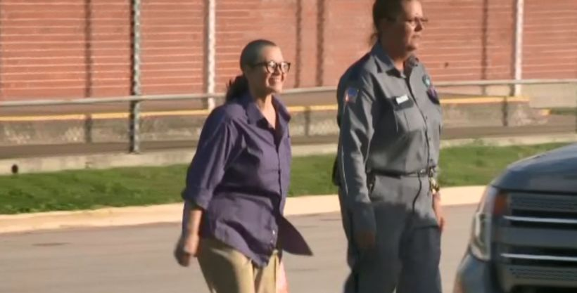 Texas woman who ran over cheating husband freed from prison