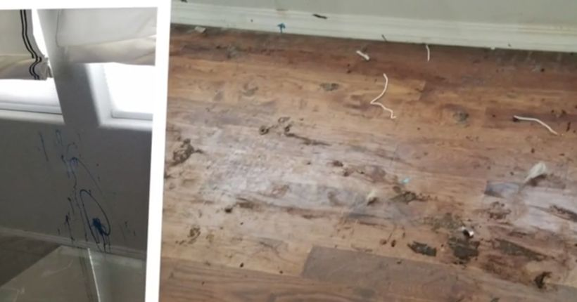 Couple says would-be homebuyers smeared feces, caused $40K in damage