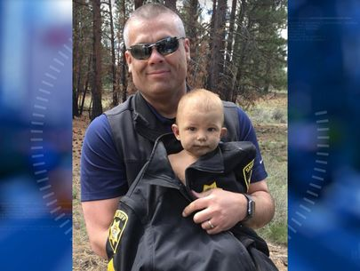 Baby found naked, lying in dirt after dad abandons him in forest