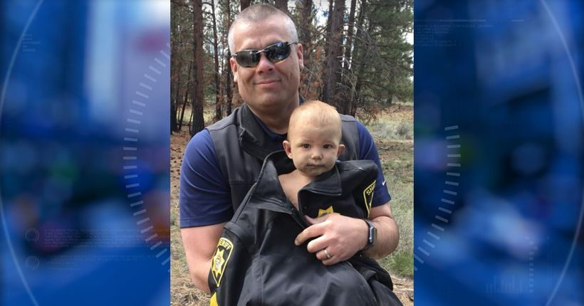 Baby found naked, lying in dirt after Ohio dad abandons him in Oregon forest