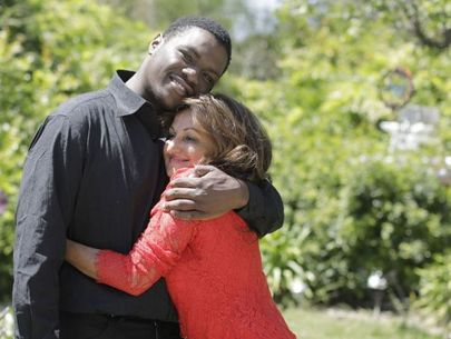 Woman reunites with man she found buried alive as baby