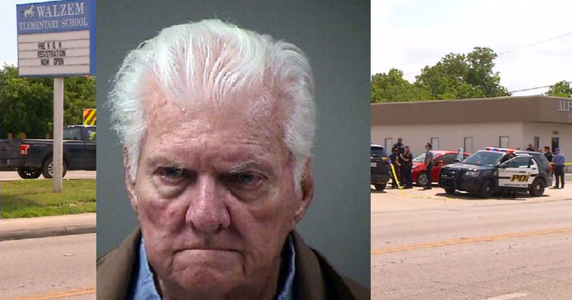 Witnesses stop, shoot at 89-year-old man running over woman