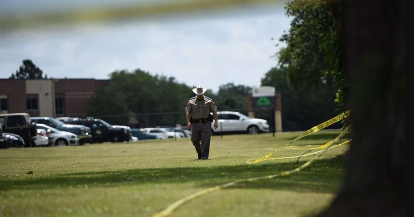 Texas school shooting: gunfight between student and deputies lasted 25 minutes