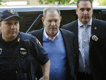 Harvey Weinstein arraigned on rape charges, out on $10M bond