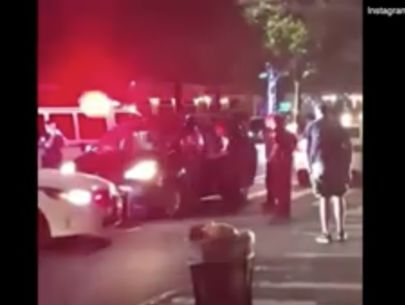 VIDEO: Driver donuts in Manhattan, leads police on chase