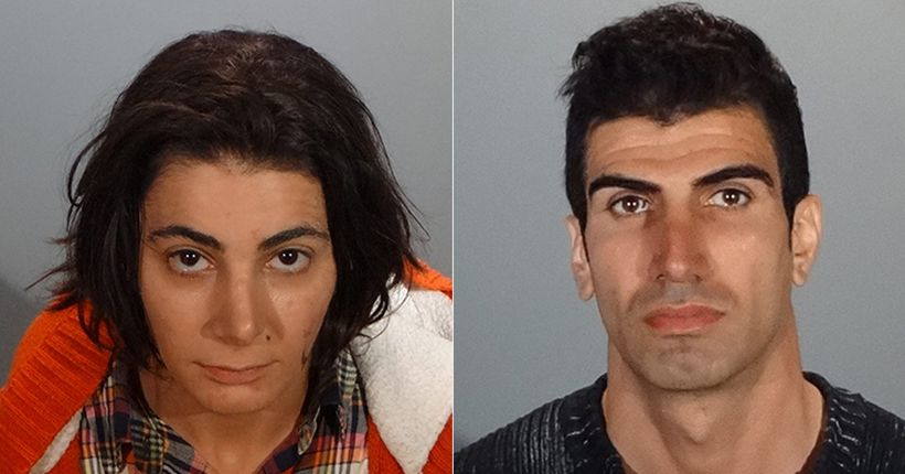 Brother and sister arrested after routine probation check reveals arsenal of weapons in Glendale home
