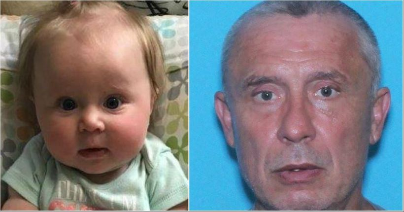 AMBER Alert: Sex offender with skull tattoo abducts baby from Va. gas station, police say