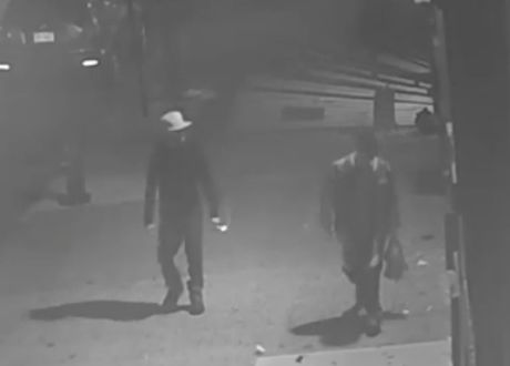Neighbor's security camera shows men behind fatal Bronx stabbing