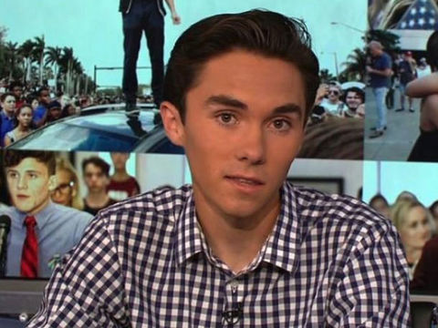 Parkland survivor David Hogg's home 'swatted'