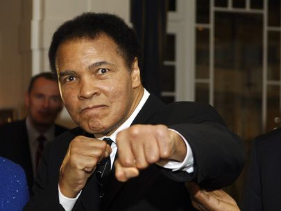 Trump says he may pardon deceased boxing great Muhammad Ali