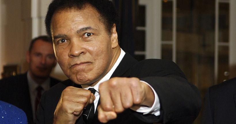 President Trump says he may pardon deceased boxing great Muhammad Ali