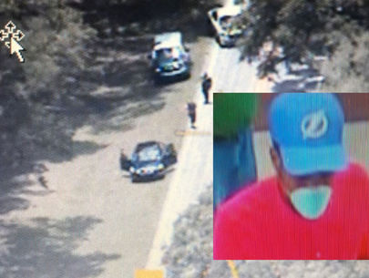 Bank robber caught with woman, young children in getaway car