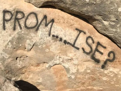 Colorado National Monument vandalized with 'promposal'