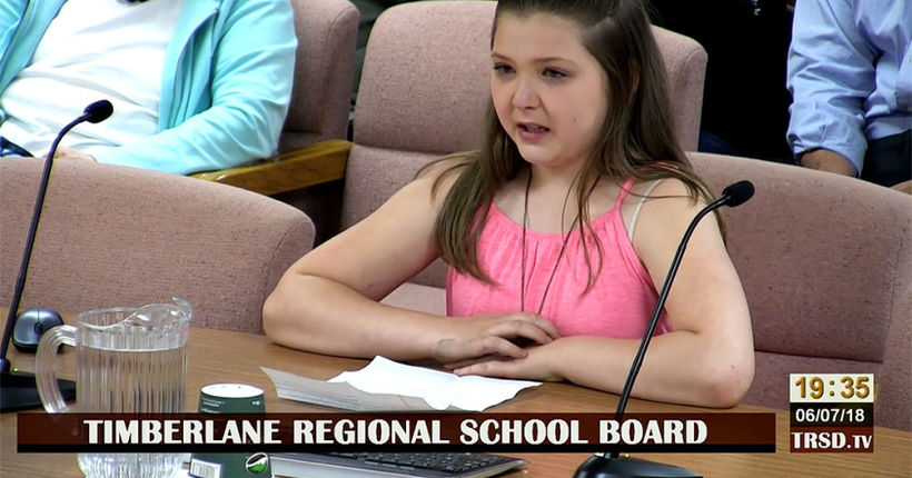 5th-grader tells school board bully threatened to shoot, bury her