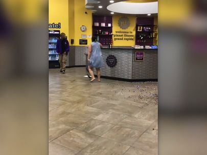 Video: Woman arrested after fit of rage at Planet Fitness
