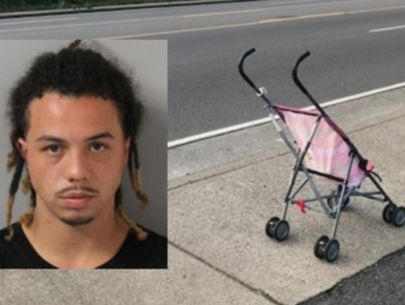 Police: Man sold drugs while pushing baby in stroller