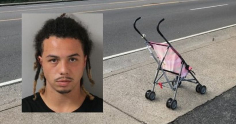 Police: Man sold drugs while pushing 6-month-old baby in stroller by school