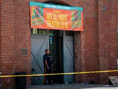 22 injured in shooting at Trenton art festival; 1 suspect killed