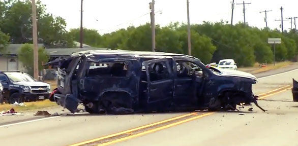 5 dead after SUV carrying 14 people chased by Border Patrol crashes