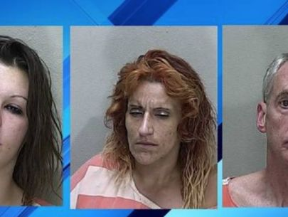3 accused of tying woman to chair, beating her, police say