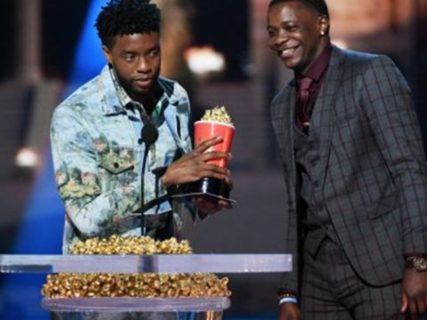 Actor gives 'Best Hero' award to man who stopped Waffle House gunman